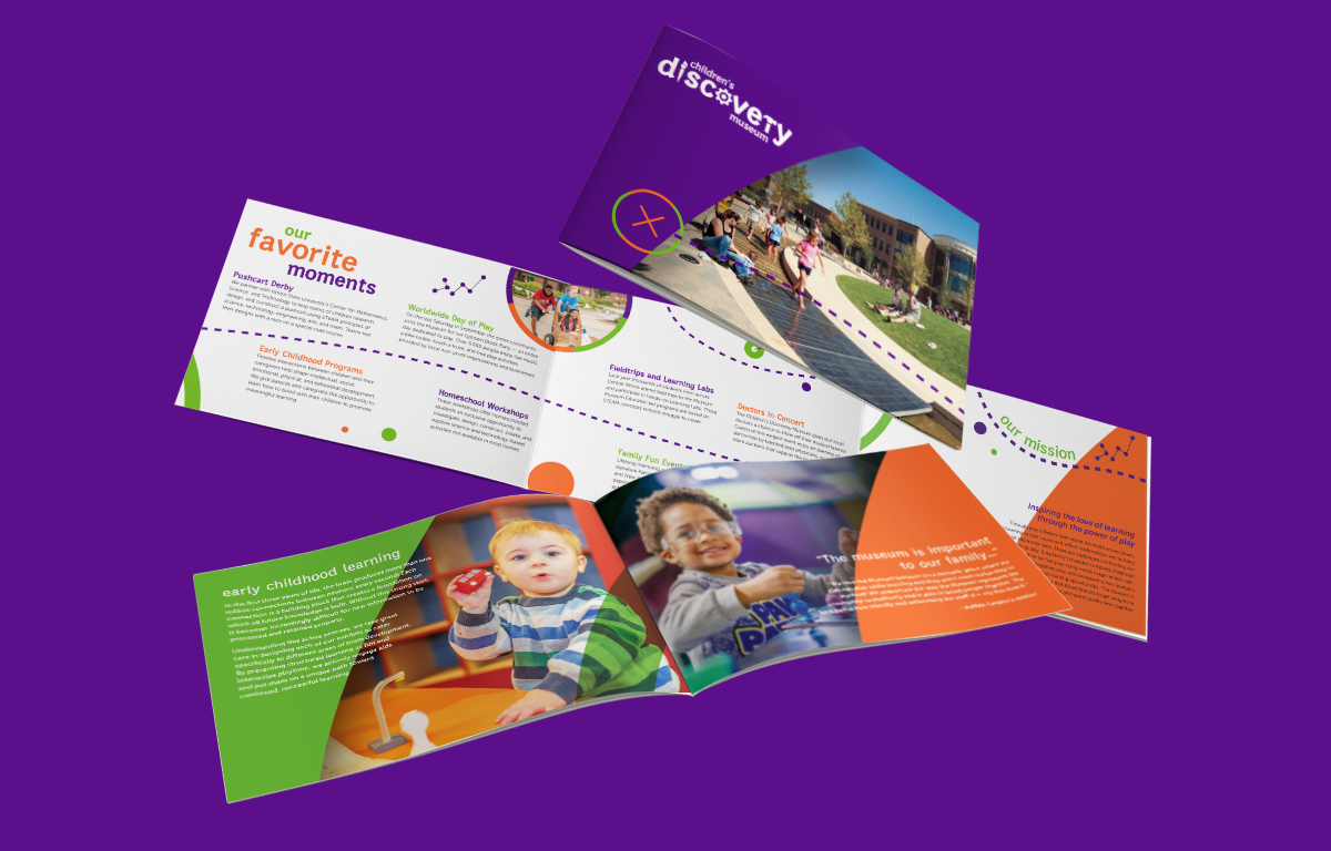 Children's Discovery Museum Professional Rebranding