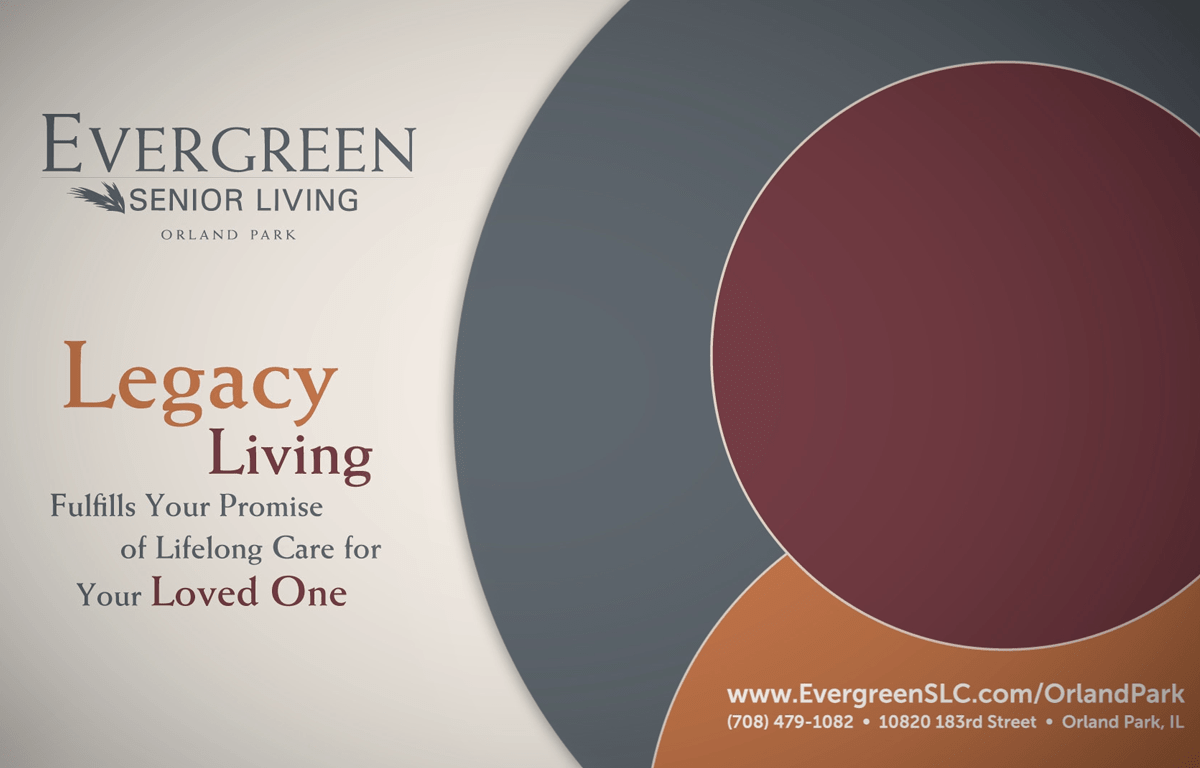 Evergreen Senior Living Orland Park Animated Video