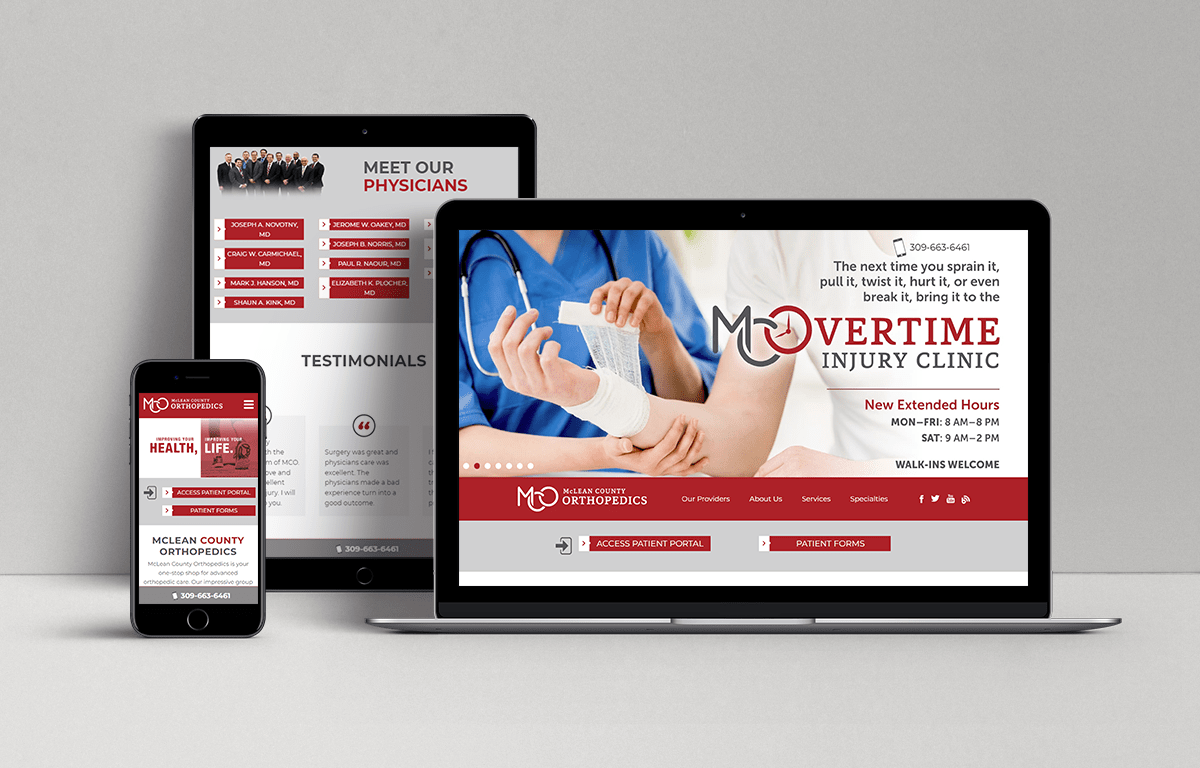 McLean County Orthopedics Digital Marketing