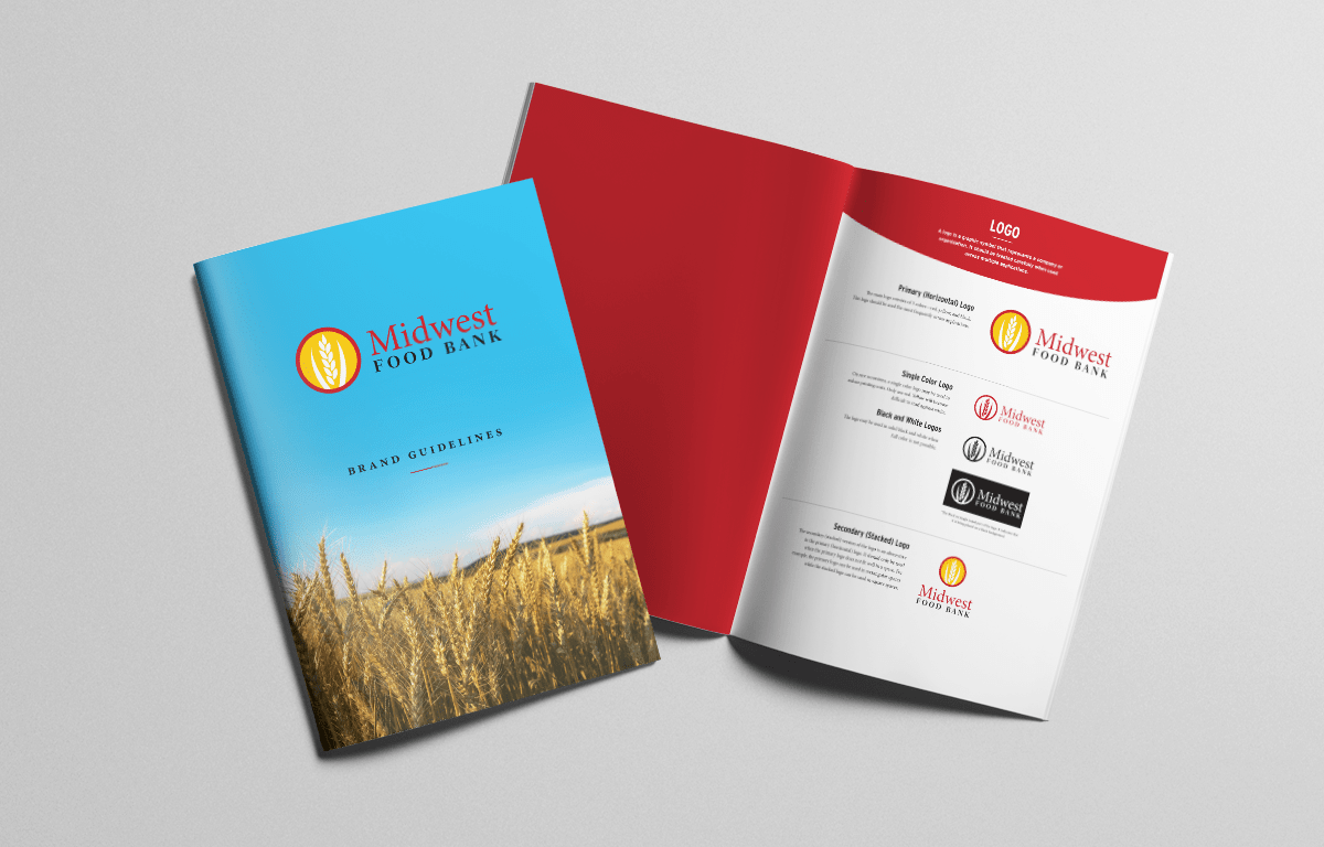 Midwest Food Bank Website and Design
