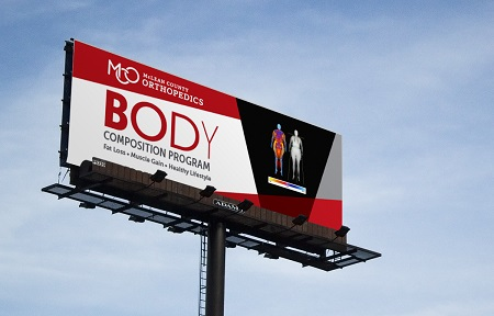 Business Builders Portfolio - MCO Body Comp Billboard